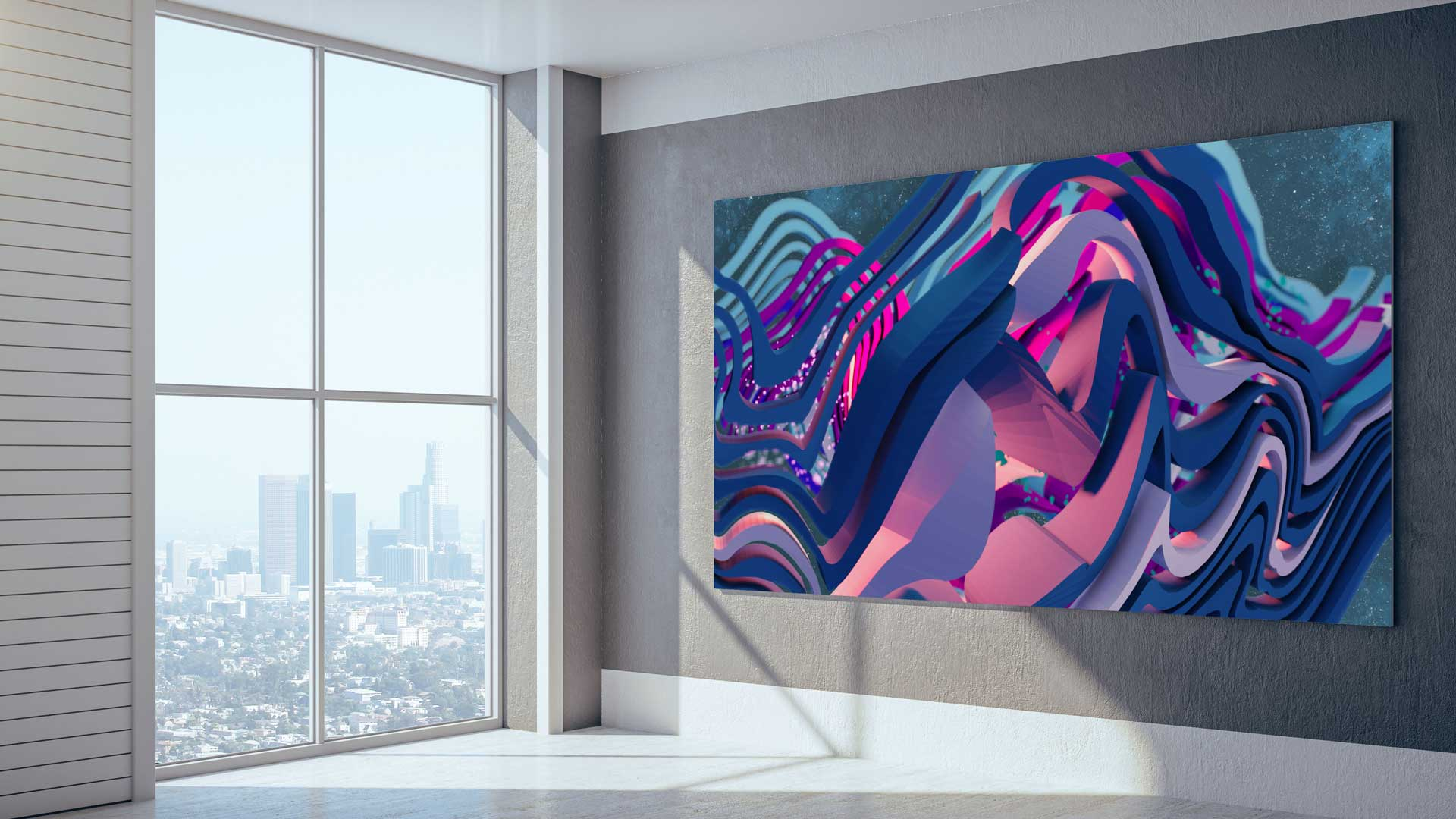 room view interior painting