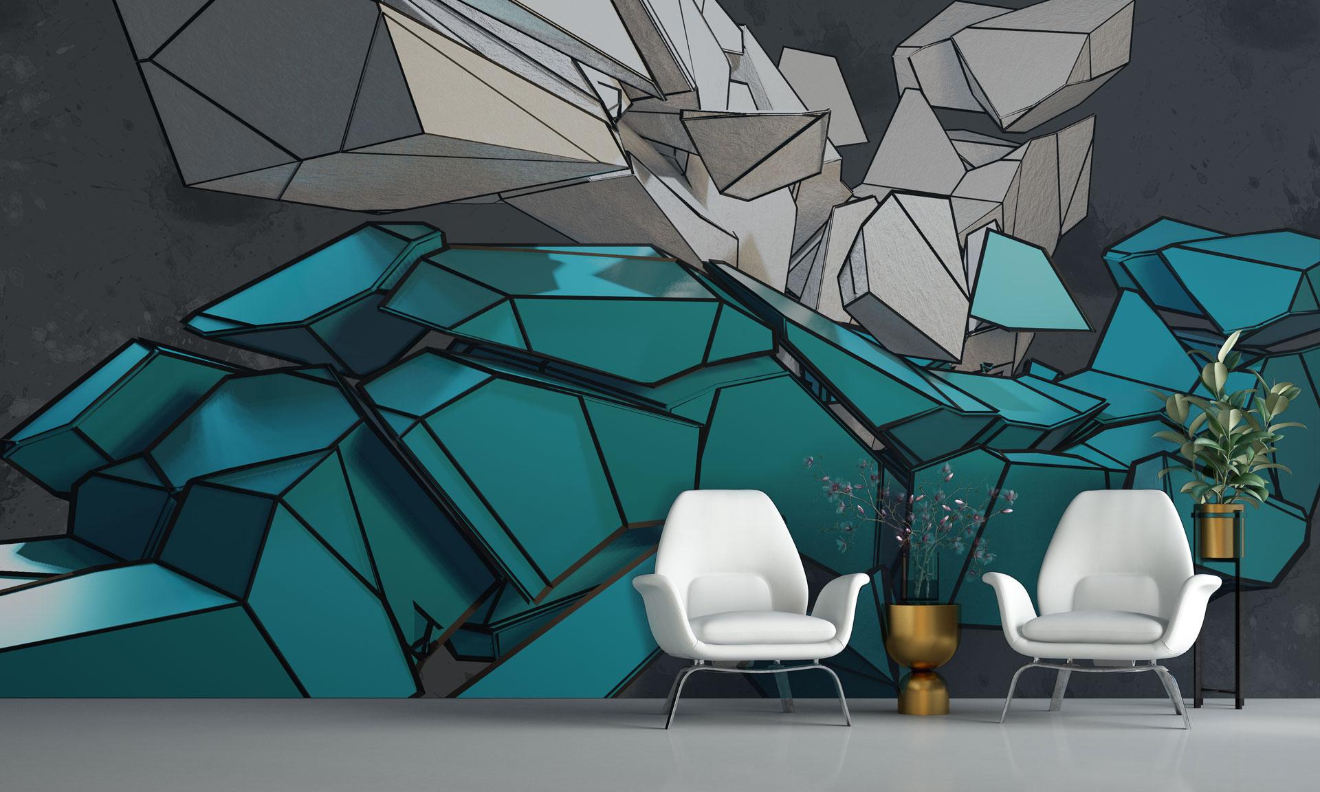 zithoek wall design interieur architectuur
